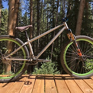 Hi-5 Bikes Spacewalk Titanium XLong Dirt Jumper