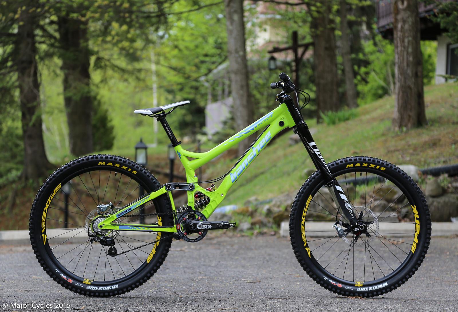 2015 Banshee/Major Cycles' 650B Legend Prototype