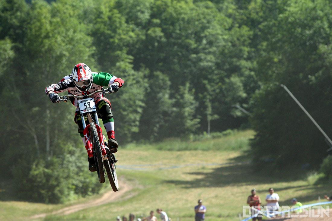 Leaping Lorenzo! - Dirt-Passion - Mountain Biking Pictures - Vital MTB