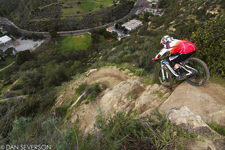 Nate Vieau in Laguna - danseverson photo - Mountain Biking Pictures - Vital MTB