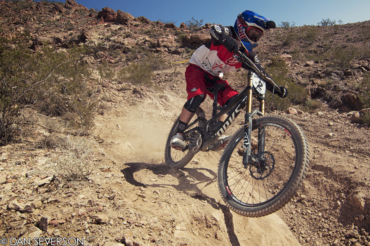 Aaron Gwin 2nd Place Reaper Madness - danseverson photo - Mountain Biking Pictures - Vital MTB