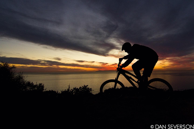 Ds Sunset Ride Danseverson Photo Mountain Biking