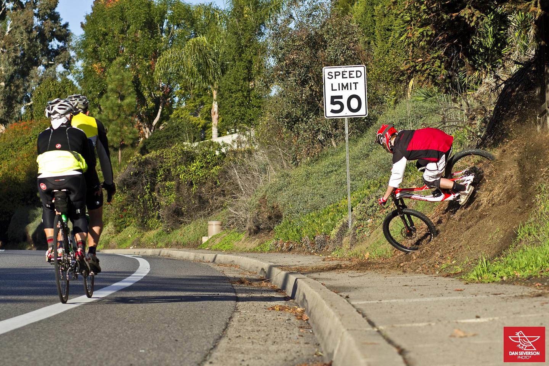 Take'n it to the streets! - danseverson photo - Mountain Biking Pictures - Vital MTB