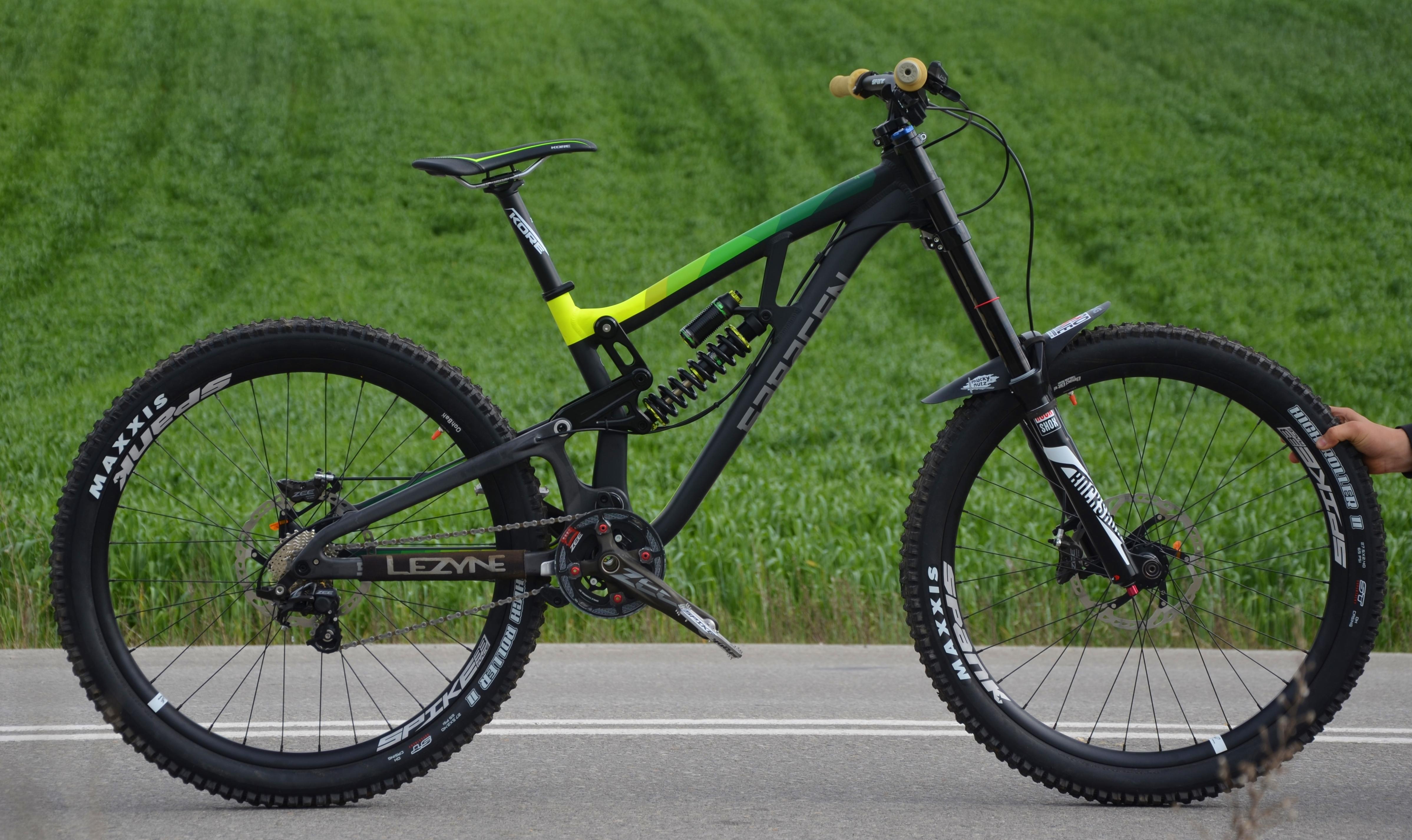Drag Racing Helmets >> Saracen Myst Pro 2016 - danis.karamichailidis's Bike Check - Vital MTB