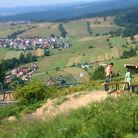 Daniel Zawistowski testing new rims at Kluszkowce Joyride Bike Park
