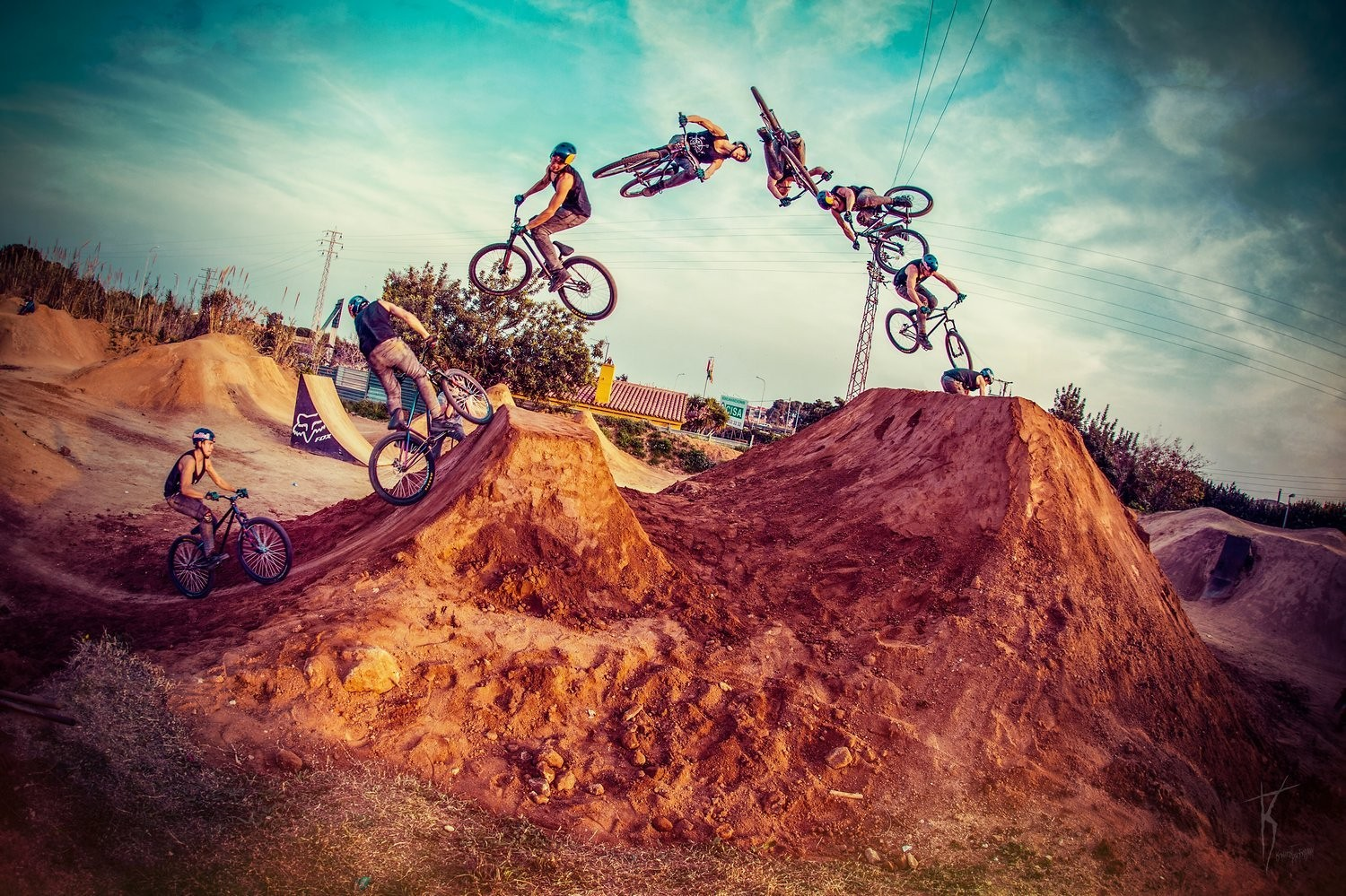 Szymon Godziek in Barcelona - Dartmoor Bikes - Mountain Biking Pictures - Vital MTB