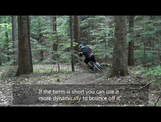 How to Ride: Berms. Michał Śliwa