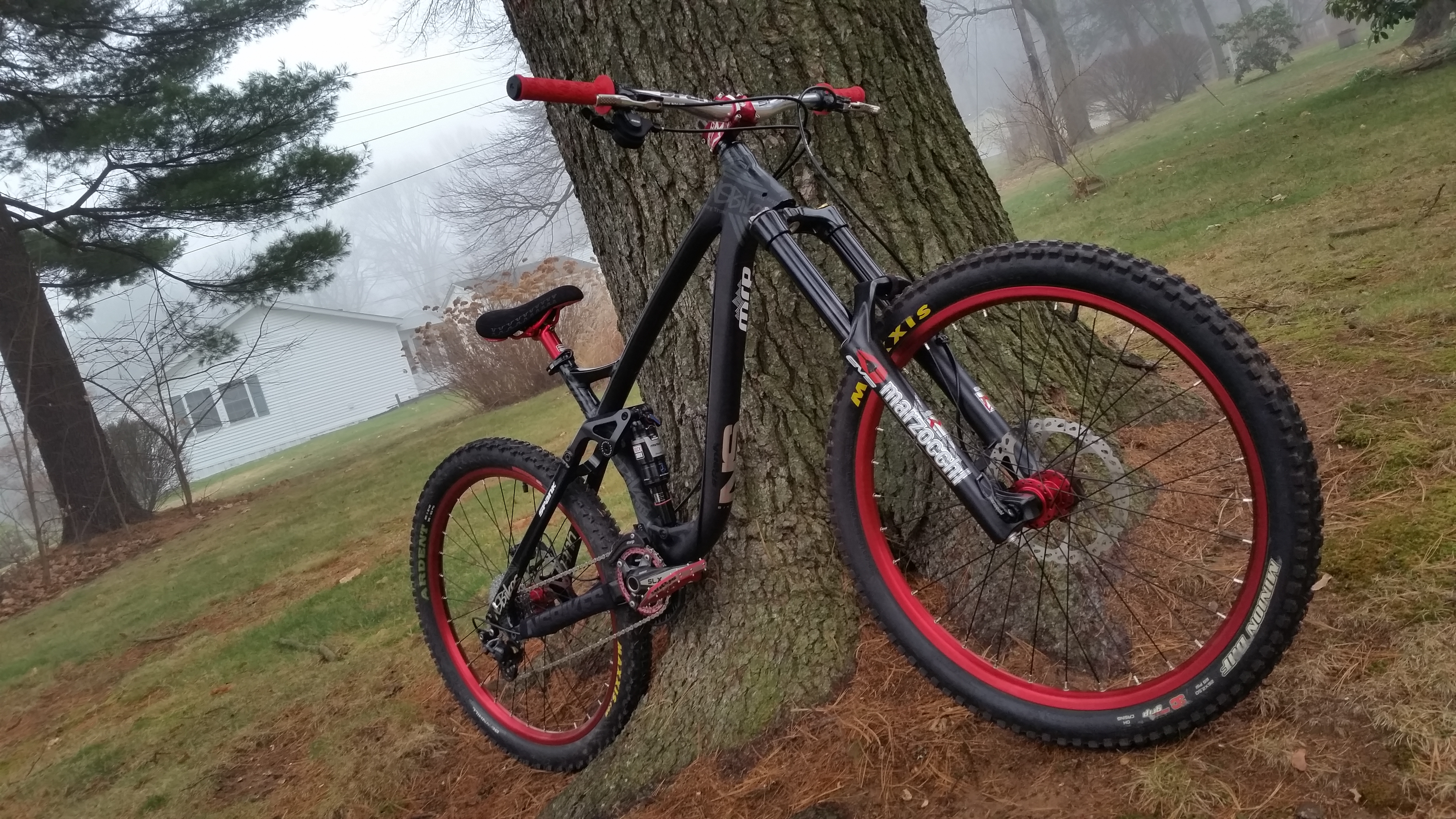 Ns Bikes Snabb E Frame Set Spank Build 2015 Fuziontheace