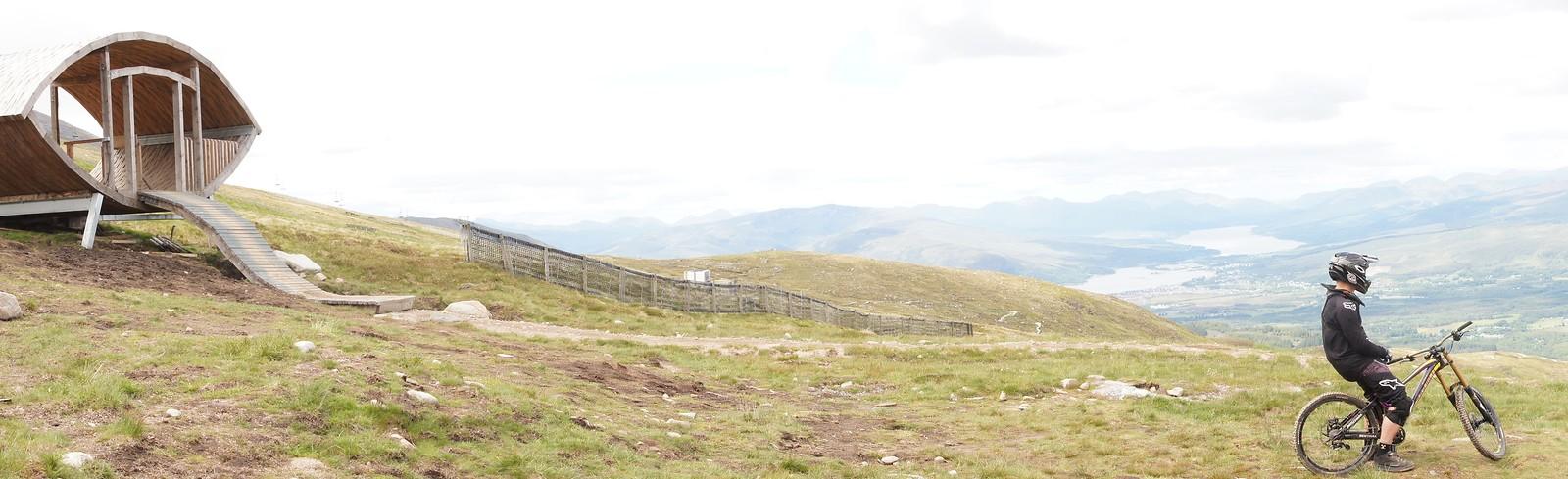 Fort William Lone Rider - Fodfotos - Mountain Biking Pictures - Vital MTB