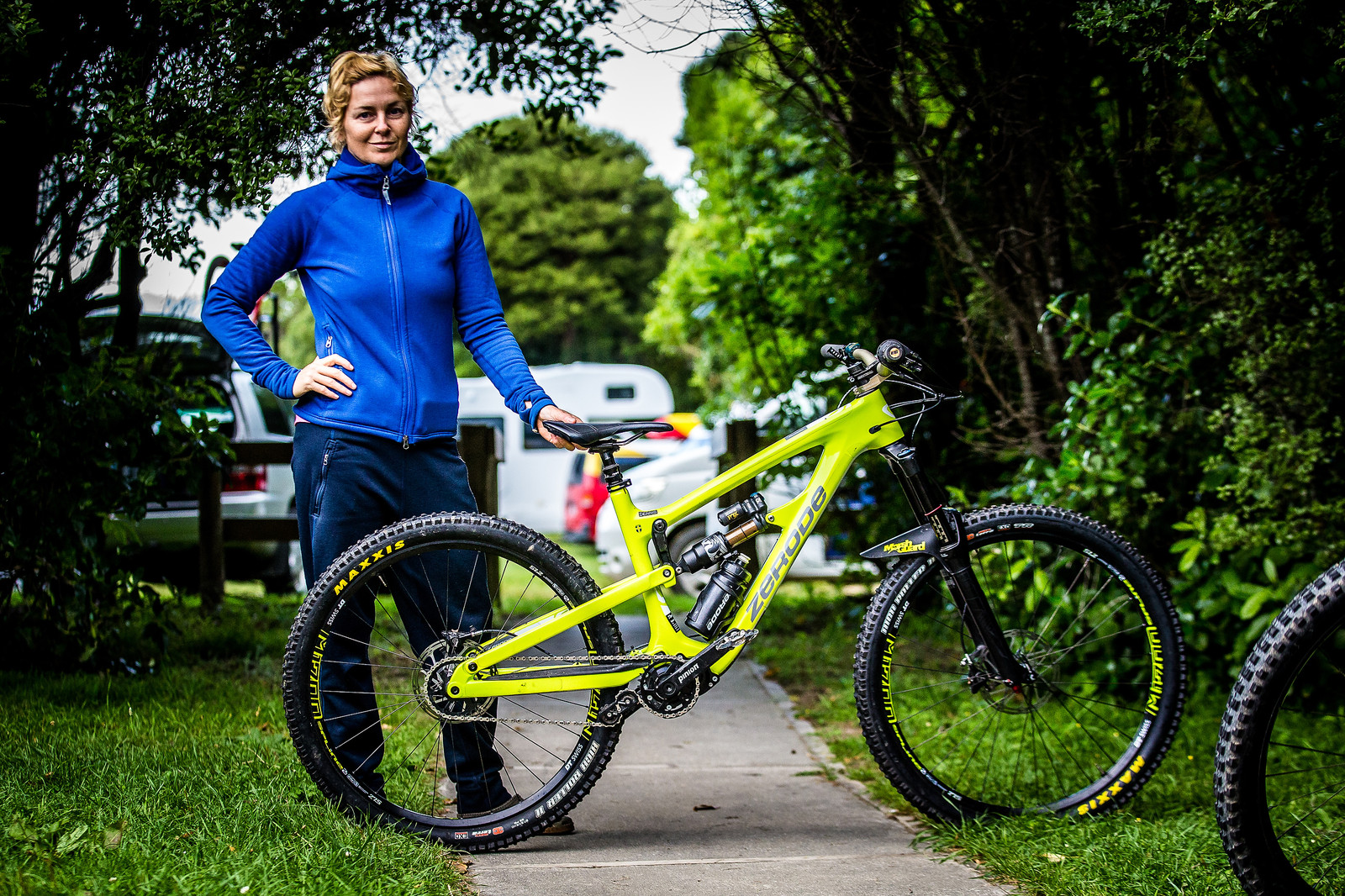 2017 NZ Enduro Pro Bikes - Lina Skoglund's Zerode Taniwha - 2017 NZ Enduro Pro Bikes - They Wreck 'Em, We Check 'Em - Mountain Biking Pictures - Vital MTB