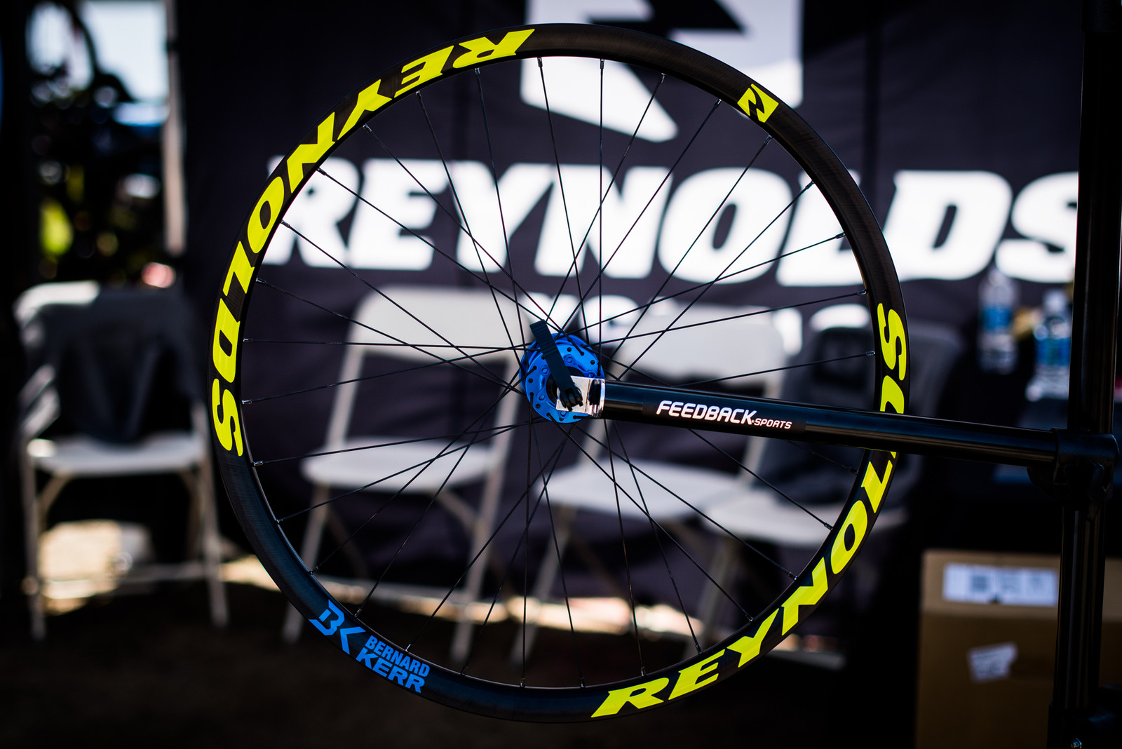 Reynolds Signature Bernard Kerr 27.5 DH Wheelset - 2017 Sea Otter Classic Pit Bits - Mountain Biking Pictures - Vital MTB