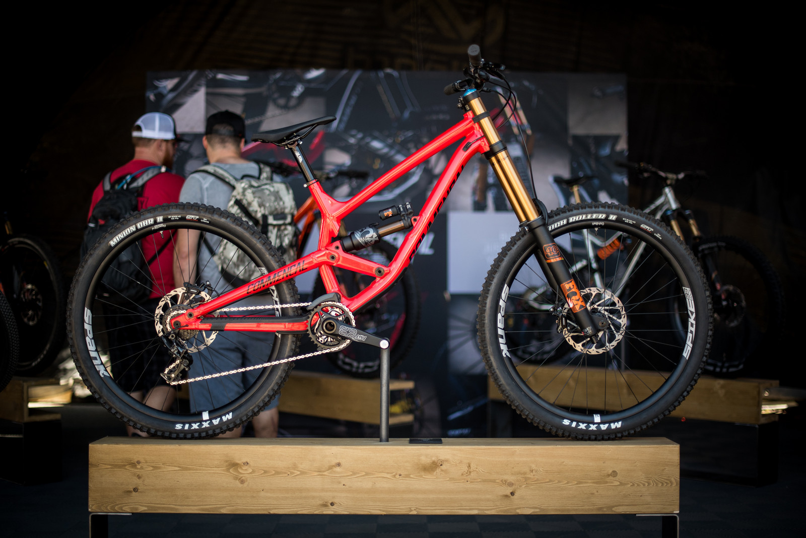 Commencal's New Big Rig - Furious - 2017 Sea Otter Classic Pit Bits - Mountain Biking Pictures - Vital MTB