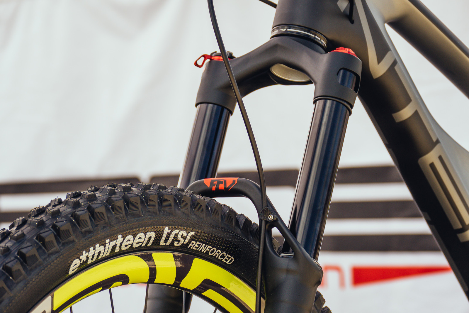Updated BOS Deville 35 Fork - 2017 Sea Otter Classic Pit Bits - Mountain Biking Pictures - Vital MTB