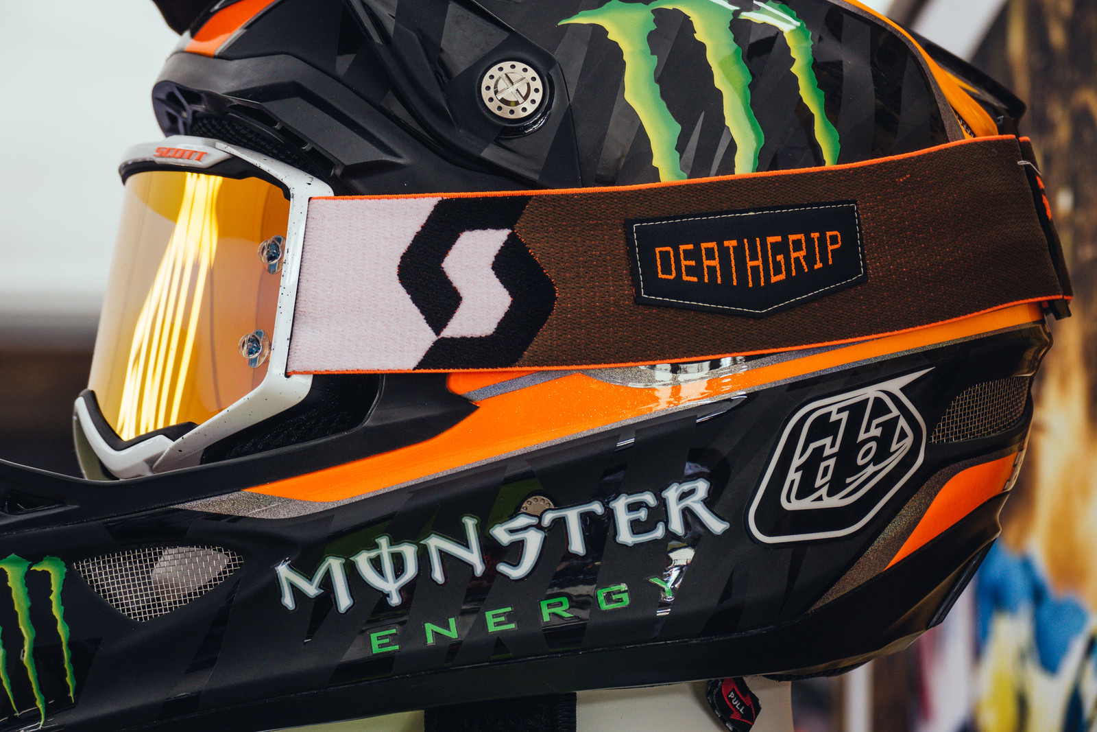 Limited Edition Scott Deathgrip Prospect Goggles - 2017 Sea Otter Classic Pit Bits - Mountain Biking Pictures - Vital MTB