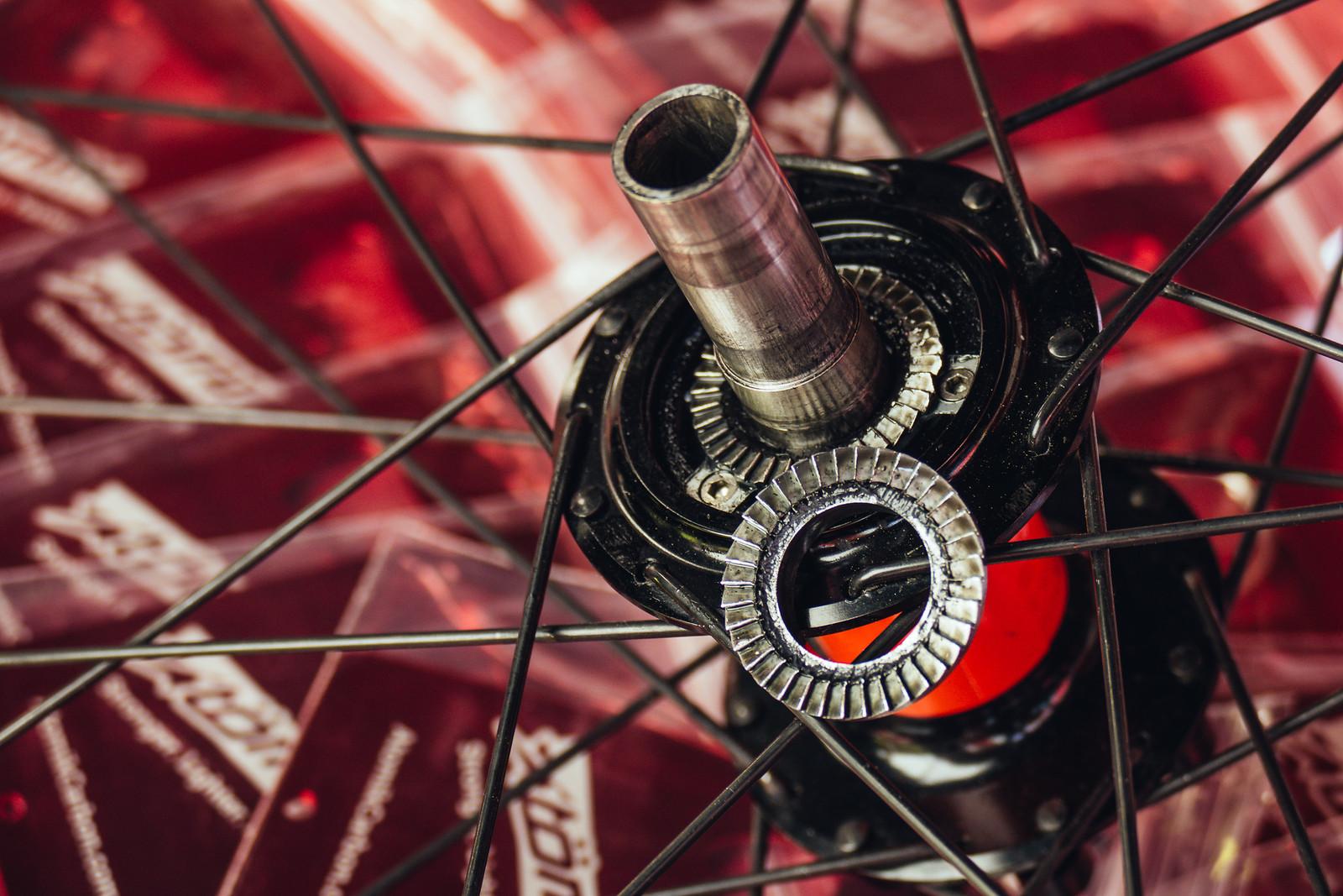 Atomik Magnetic Drive Rear Hub - FredLikesTrikes - Mountain Biking Pictures - Vital MTB