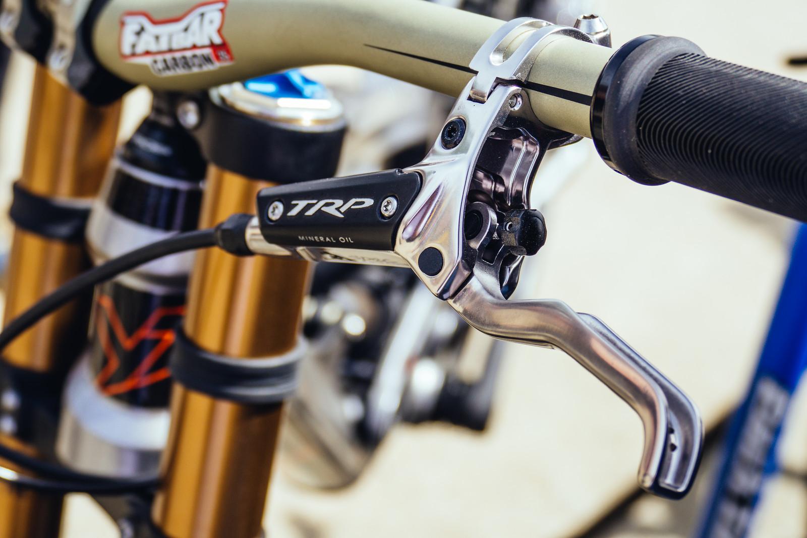 TRP G-Spec Brakes - FredLikesTrikes - Mountain Biking Pictures - Vital MTB