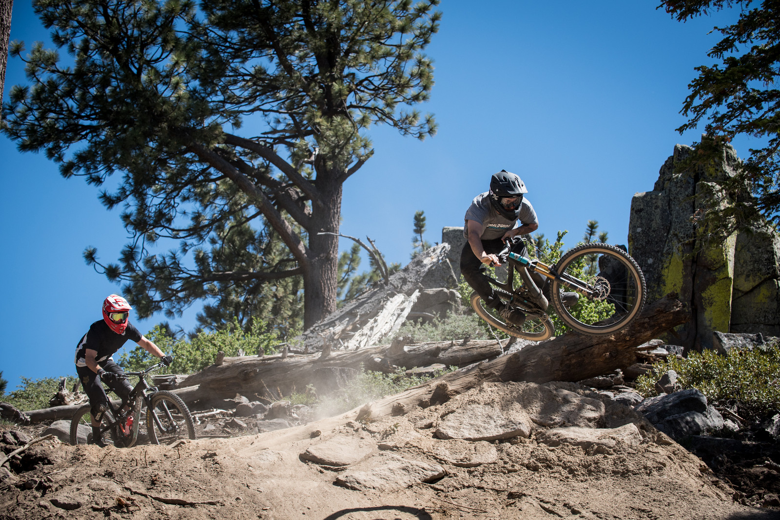 Leading'em In - Vital Ditch Day 2017 at Snow Summit Bike Park - Mountain Biking Pictures - Vital MTB