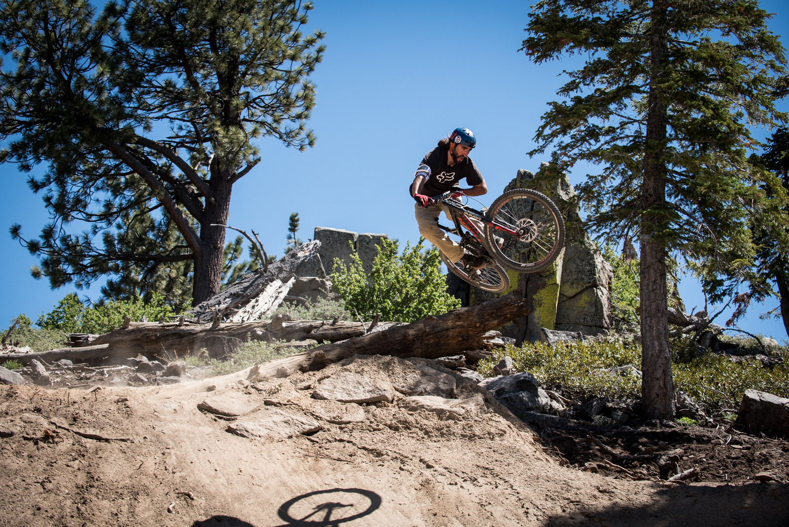 Style for Miles - Vital Ditch Day 2017 at Snow Summit Bike Park - Mountain Biking Pictures - Vital MTB