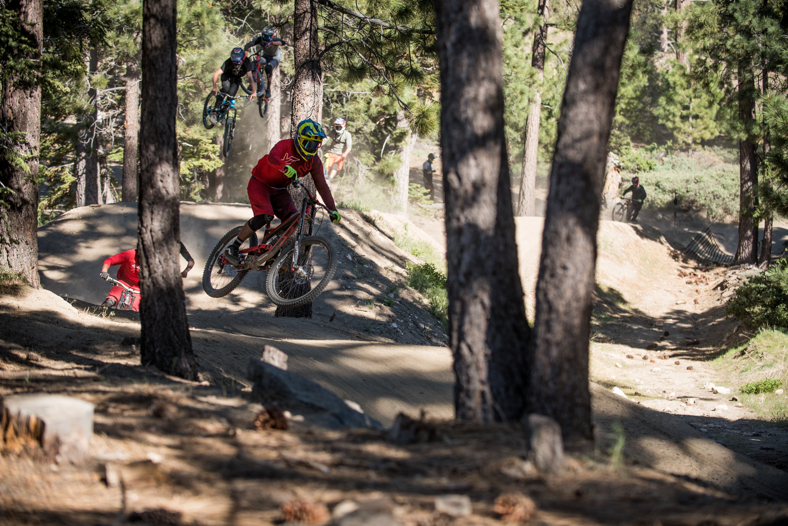 Close-Out Train - Vital Ditch Day 2017 at Snow Summit Bike Park - Mountain Biking Pictures - Vital MTB