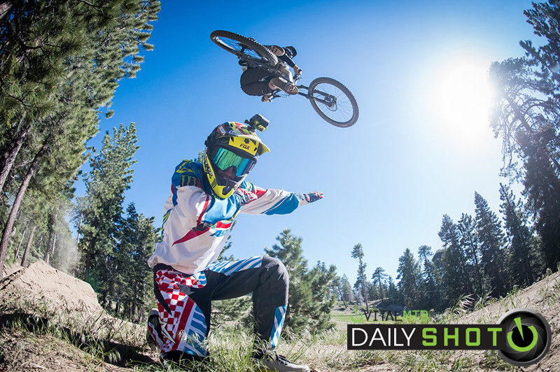 Dabbing for Whips - Vital Ditch Day 2017 at Snow Summit Bike Park - Mountain Biking Pictures - Vital MTB