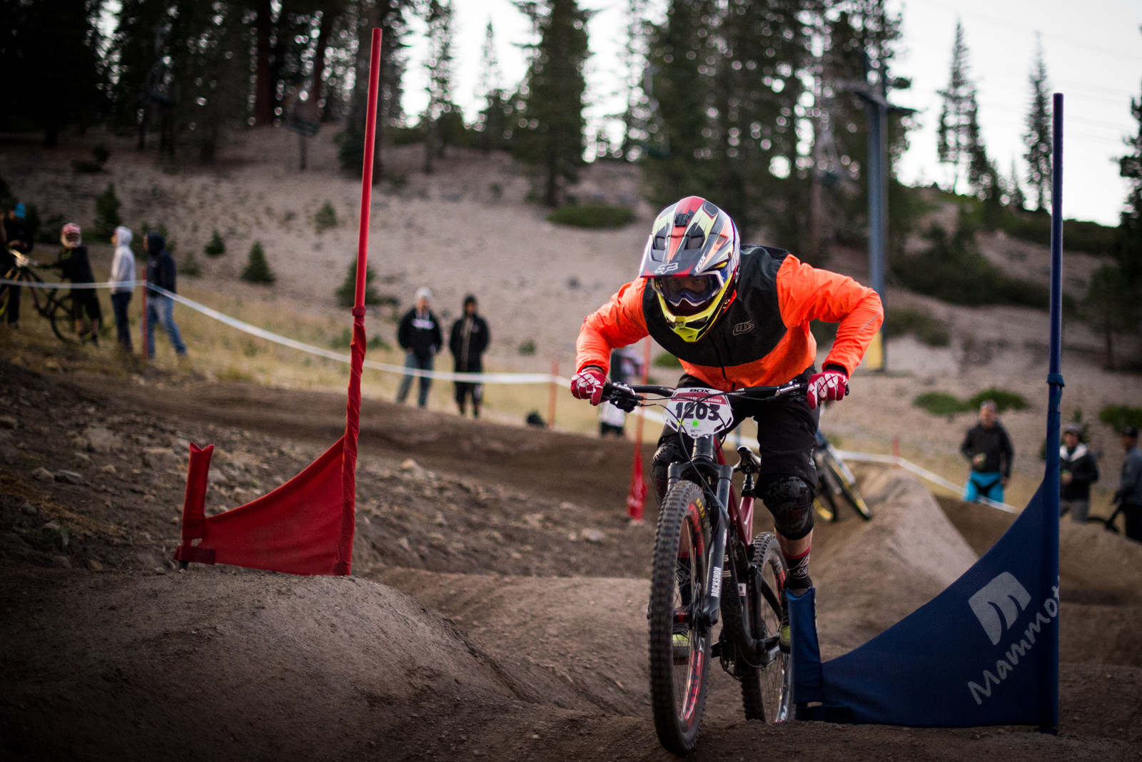 Alex Mcelyea - Mammoth Mountain Kamikaze Bike Games Dual Slalom - Mountain Biking Pictures - Vital MTB