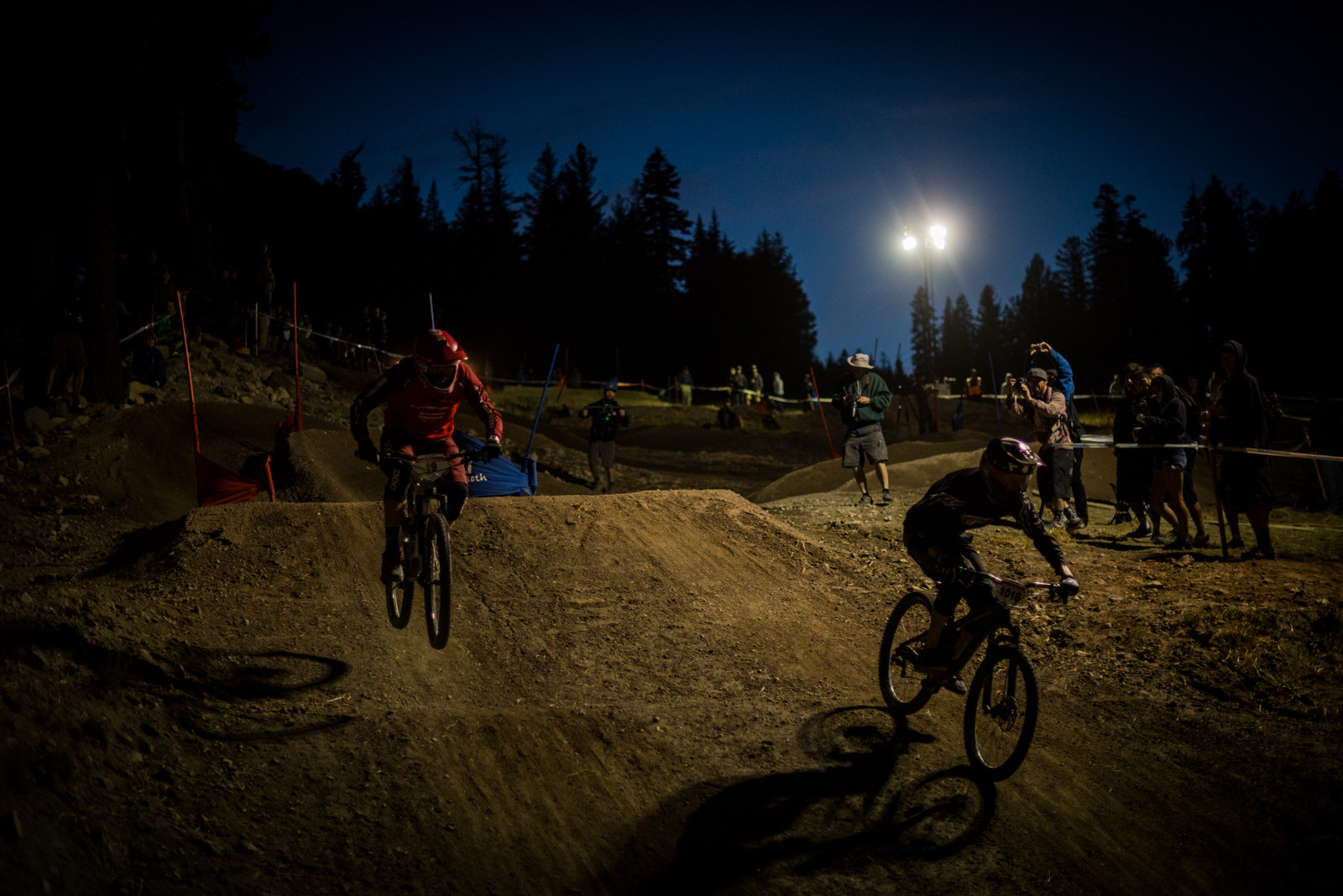 Luca Cometti and Tyler Krenek - Mammoth Mountain Kamikaze Bike Games Dual Slalom - Mountain Biking Pictures - Vital MTB