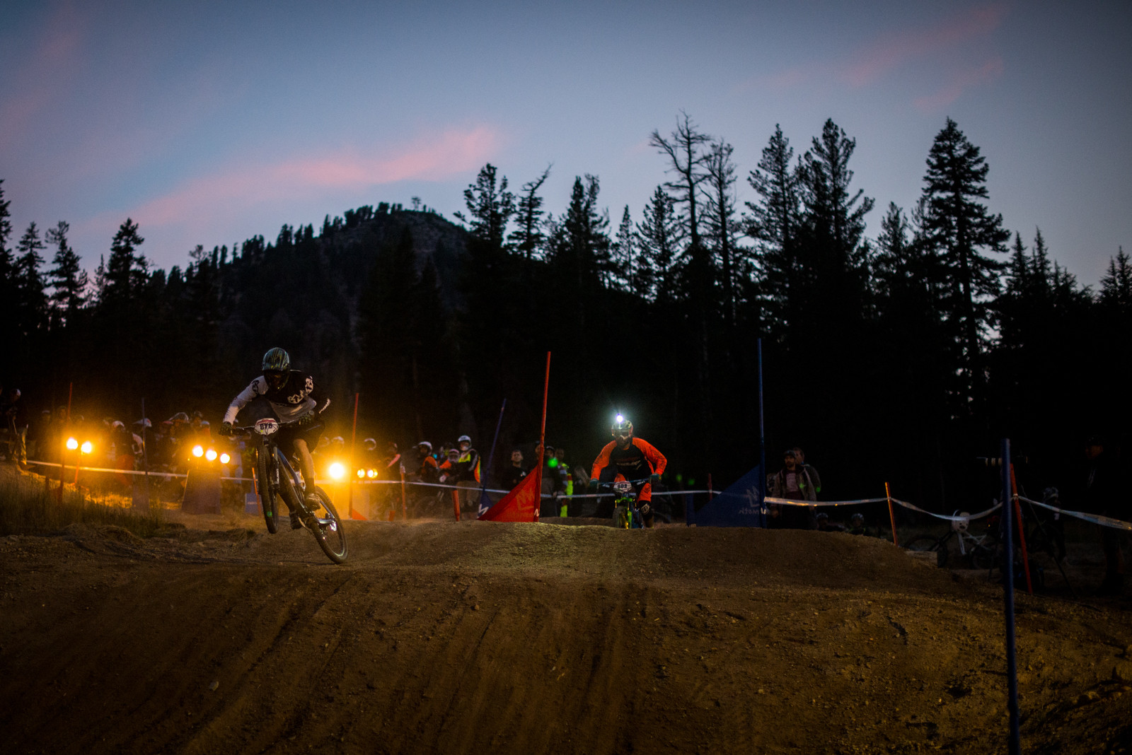 Brad Powell & Vincent Kimber - Mammoth Mountain Kamikaze Bike Games Dual Slalom - Mountain Biking Pictures - Vital MTB