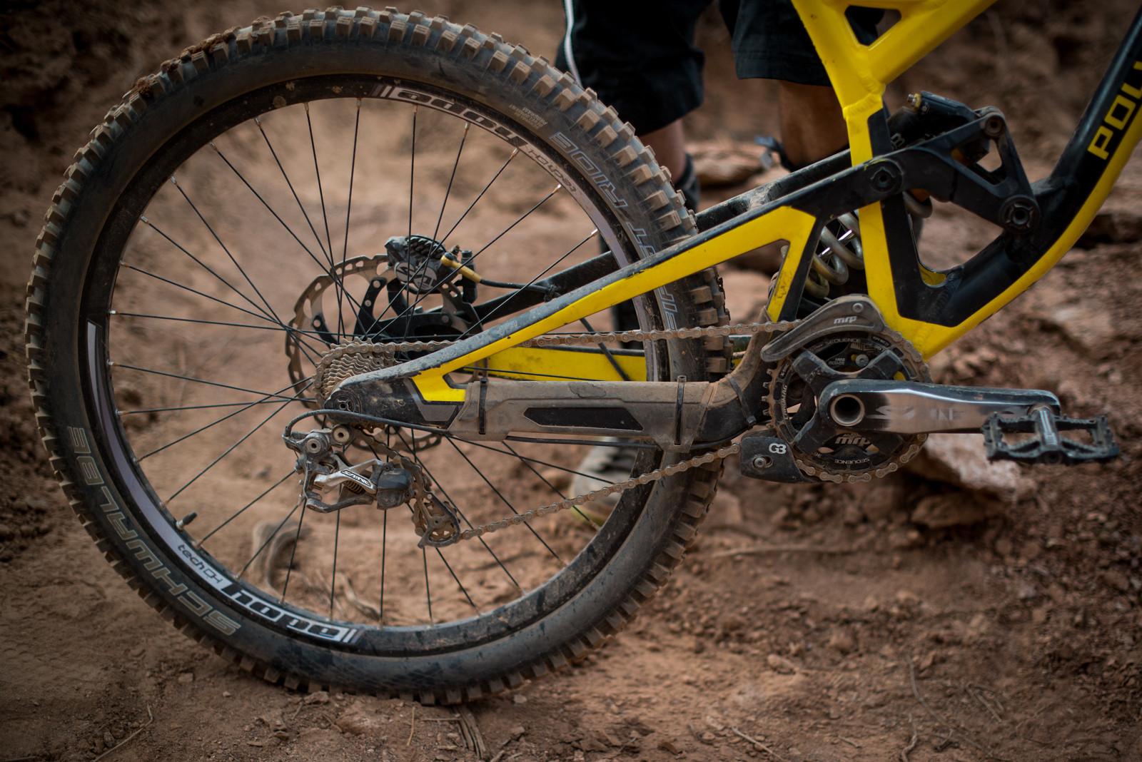 WINNING BIKE - Kurt Sorge's Polygon Collosus - FredLikesTrikes - Mountain Biking Pictures - Vital MTB