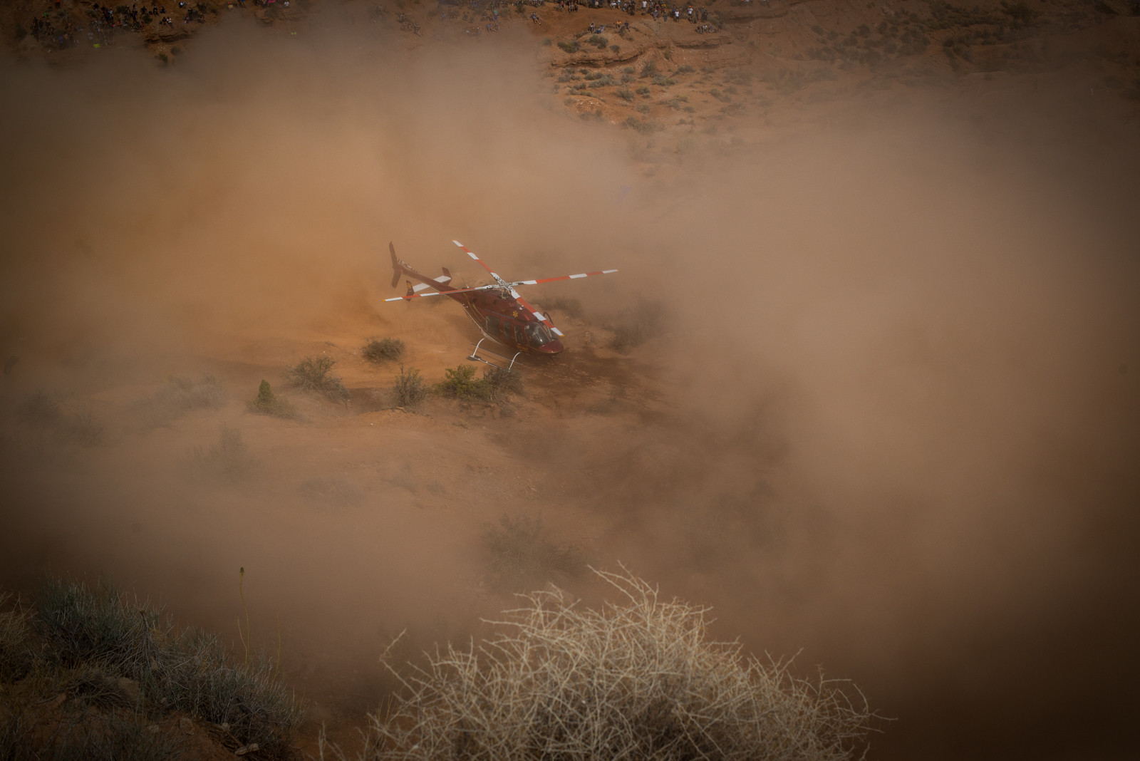 Care Flight for Paul B - 2015 Red Bull Rampage Finals - Mountain Biking Pictures - Vital MTB