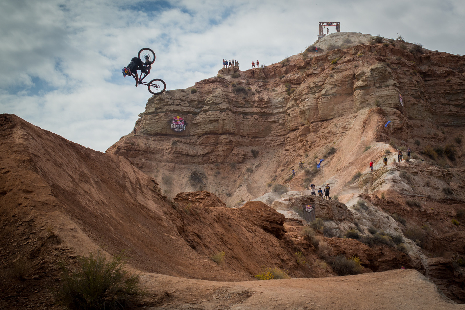 Andreu Lacondeguy - 2015 Red Bull Rampage Finals - Mountain Biking Pictures - Vital MTB