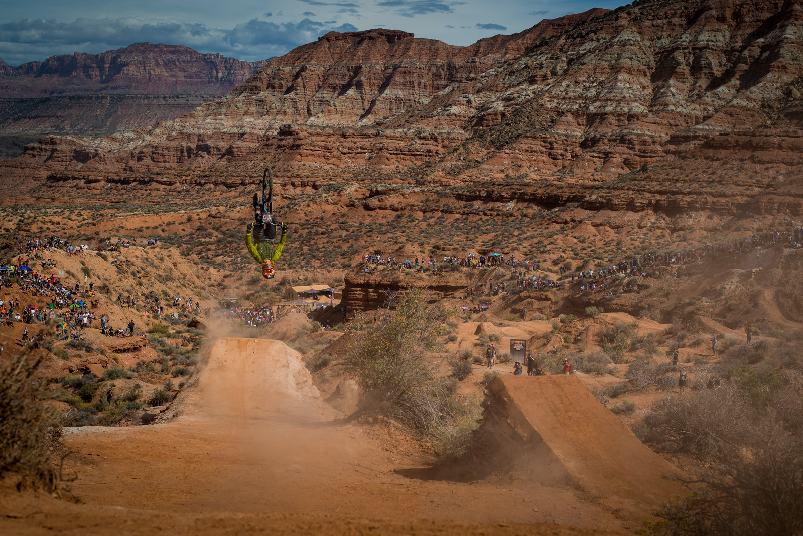 Kelly McGarry - 2015 Red Bull Rampage Finals - Mountain Biking Pictures - Vital MTB