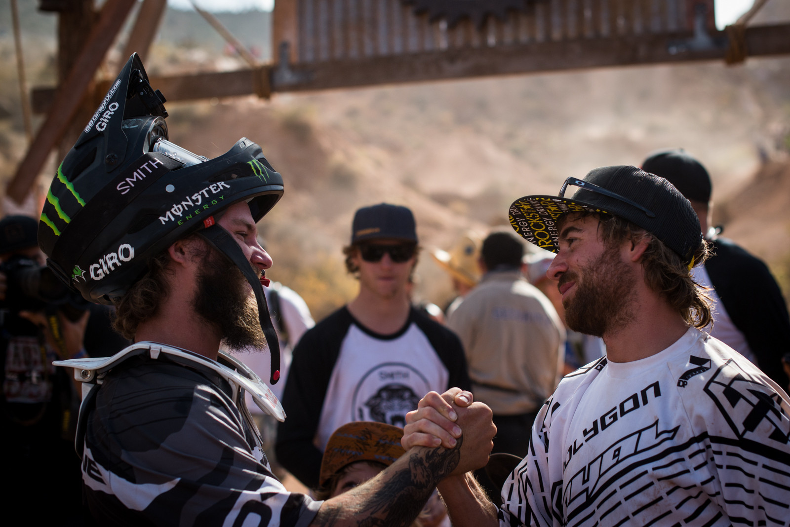 Aggy and Sorge - 2015 Red Bull Rampage Finals - Mountain Biking Pictures - Vital MTB