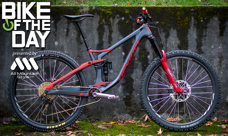 Devinci Spartan Carbon from Fat Tire Farm