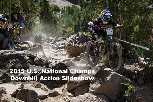 2015 U.S. National Championships Downhill Action Slideshow