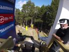 Gee's Nasty Crash During His Worlds Run   2015 World Champs: Vallnord, Andorra