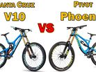 Linkage Analysis - Santa Cruz V10c vs. Pivot Phoenix Carbon