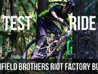 TEST RIDE - Canfield Brothers Riot in Kamloops, BC