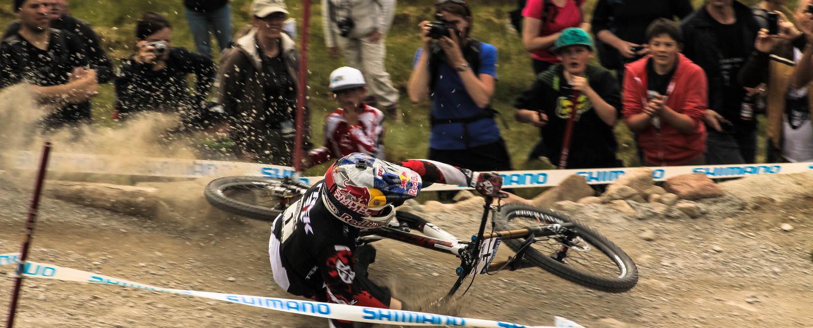 Aaron Gwin Fort William 2012  - CMarshall - Mountain Biking Pictures - Vital MTB