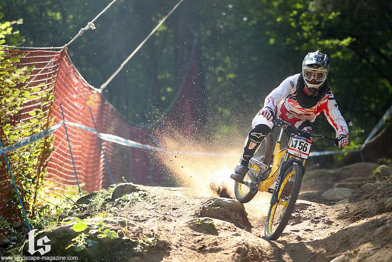 Matt Beer - 2011 Val Di Sole World Cup race run - big bear - Mountain Biking Pictures - Vital MTB