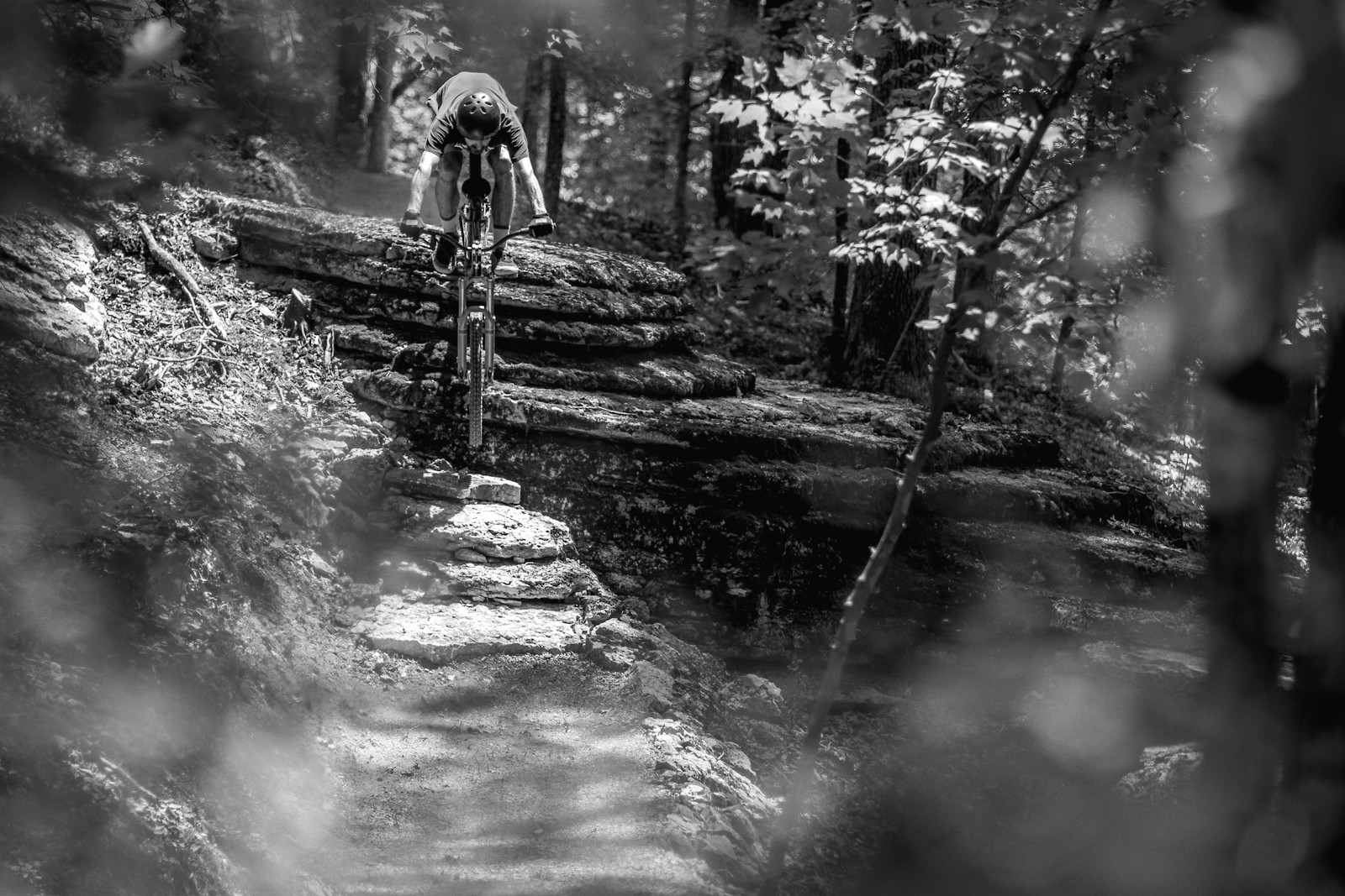 BW dropping in on my dirt jumper - slager - Mountain Biking Pictures - Vital MTB