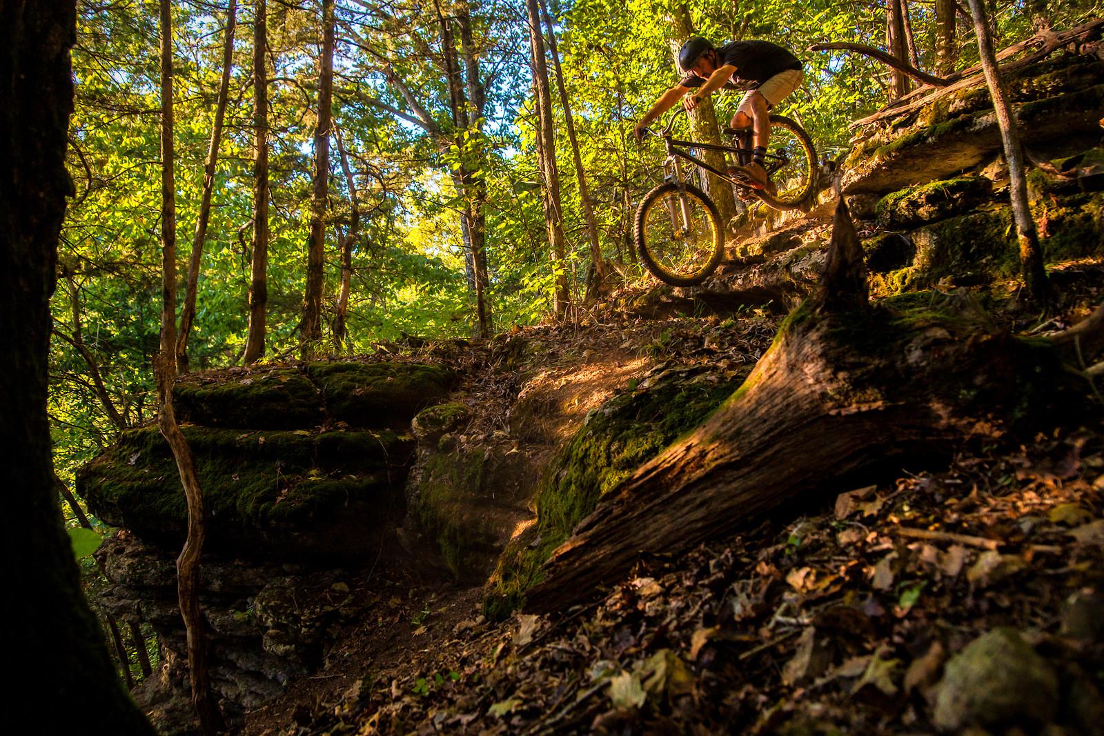 Arkansas rock shelf/slab drop in - slager - Mountain Biking Pictures - Vital MTB