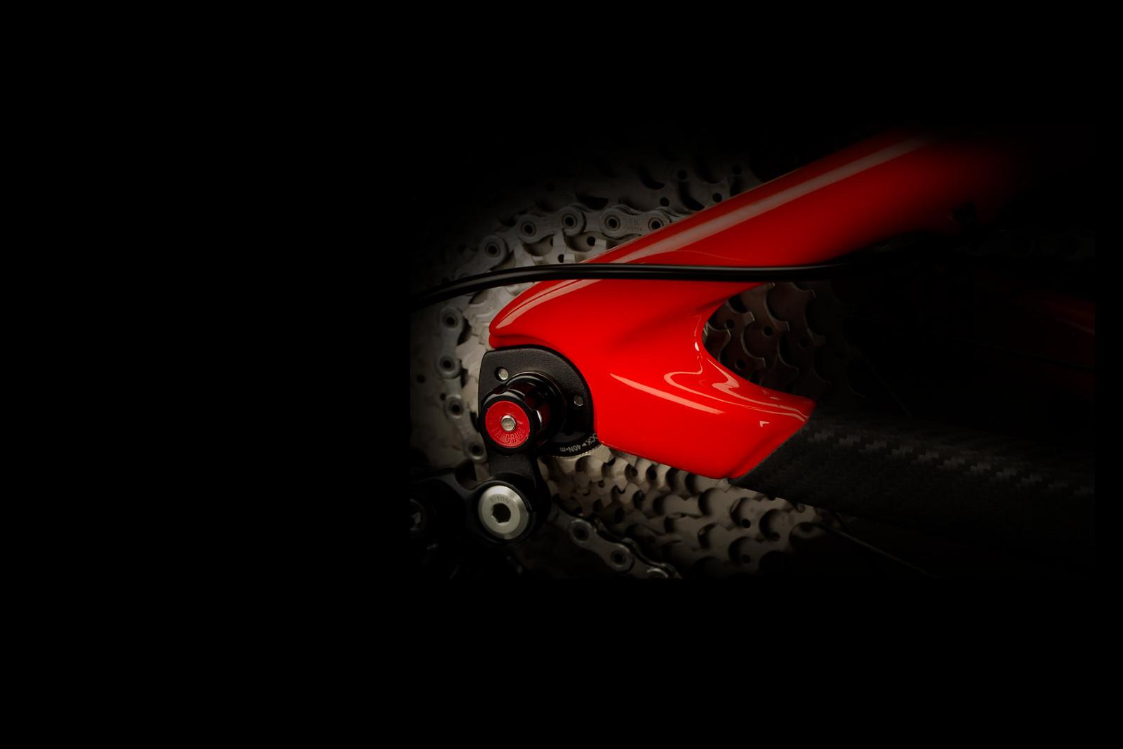Replaceable Hanger - Santa Cruz Bikes - Mountain Biking Pictures - Vital MTB