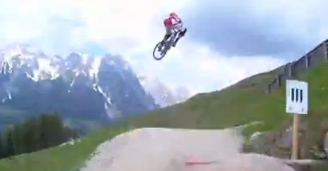 Helmet Cam of 2012 World Champs DH Course - This Is Peaty