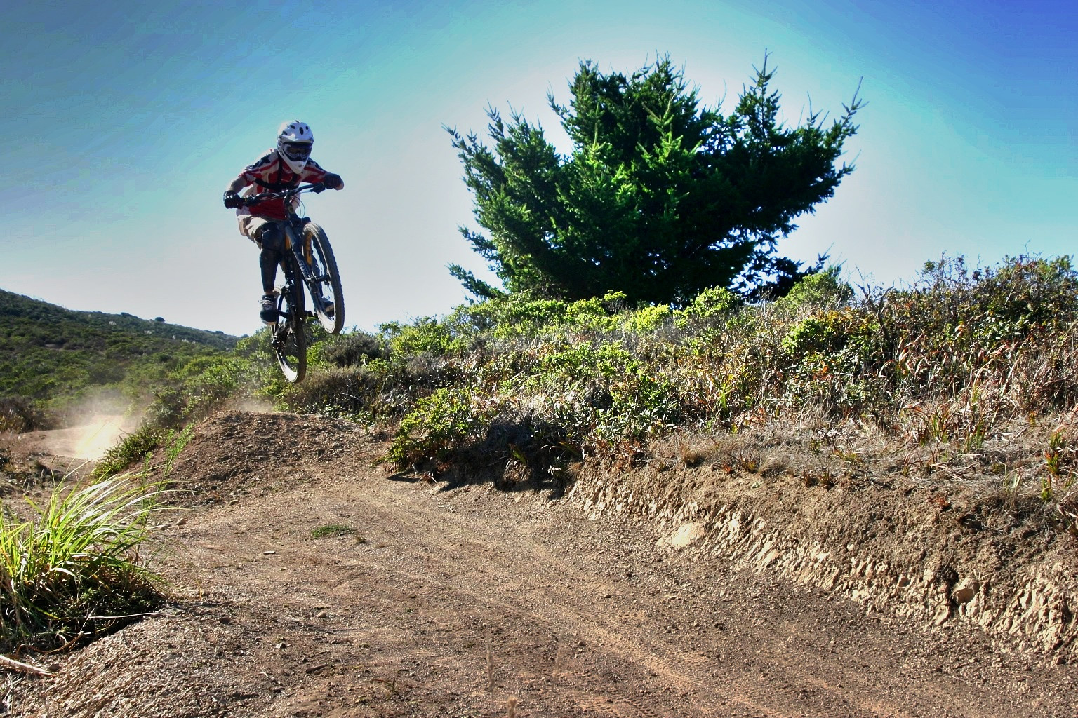 Mile 2nd Jump HDR - reese.stanley.71 - Mountain Biking Pictures - Vital MTB