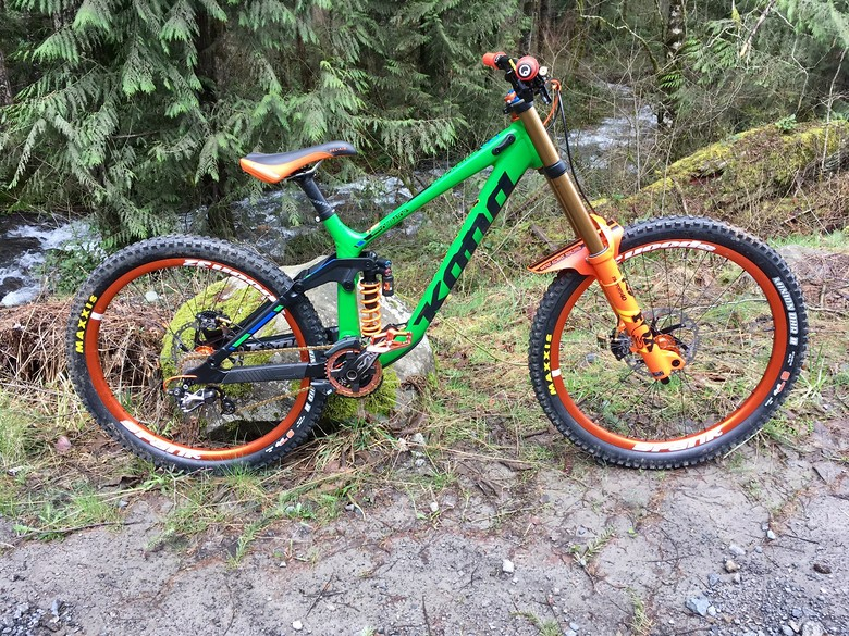 2017 Kona Operator - Pumpkin Build