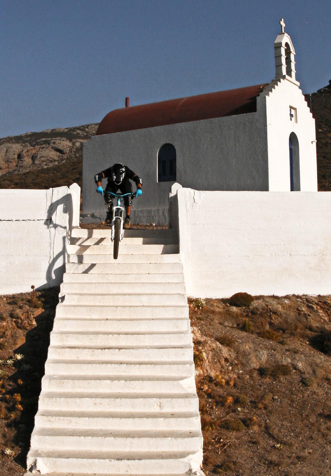 stairway to heaven - kos - Mountain Biking Pictures - Vital MTB