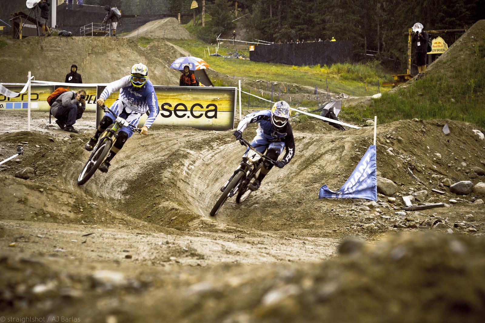 Brendon Fairclough was Knocked out to Early - Crankworx Slalom 2013 - Mountain Biking Pictures - Vital MTB