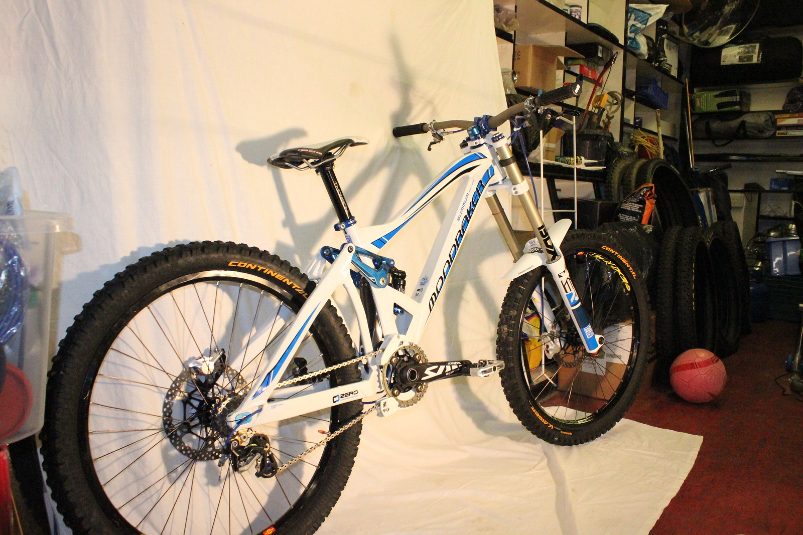 Mondraker Summum Pro Team Limited Edition 2011 blue/white