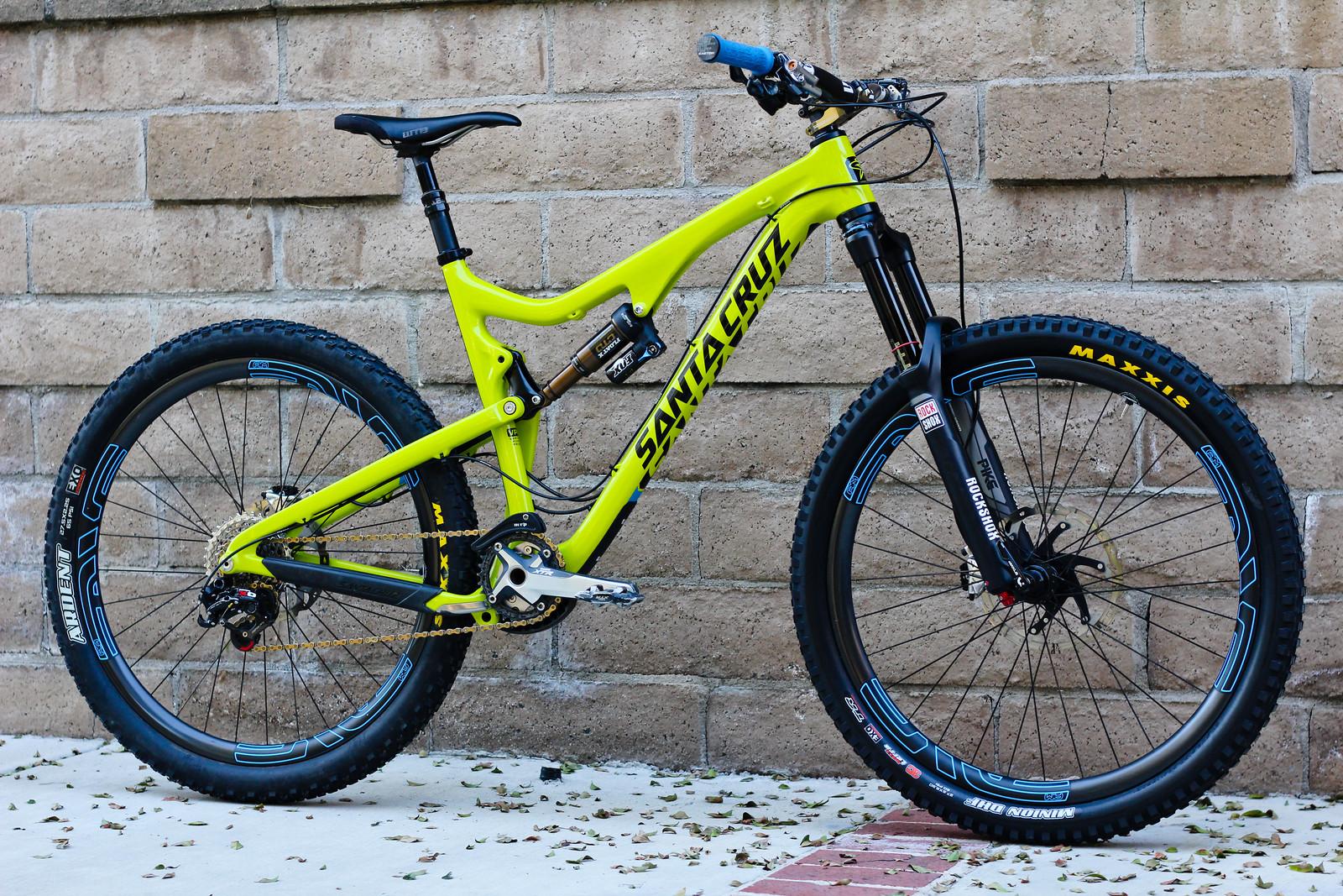 Santa Cruz Bronson Bajaguy S Bike Check Vital Mtb