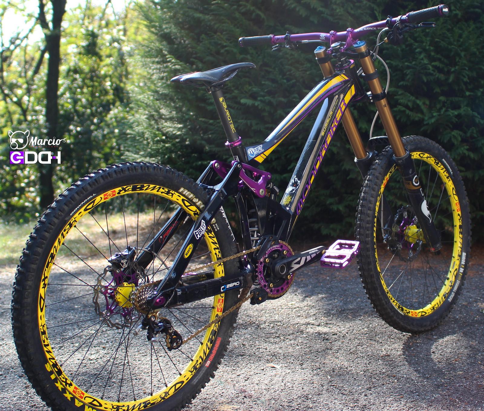 Mondraker Summum Pro Team Limited Edition Marci0 S Bike